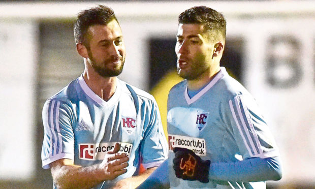Cammy Keith, right, is hoping Keith can get the better of Fort William in the Scottish Cup.