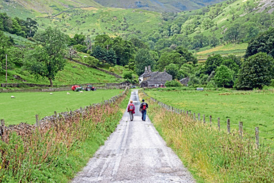 Walkers have been asked to respect the health and safety of farmers.