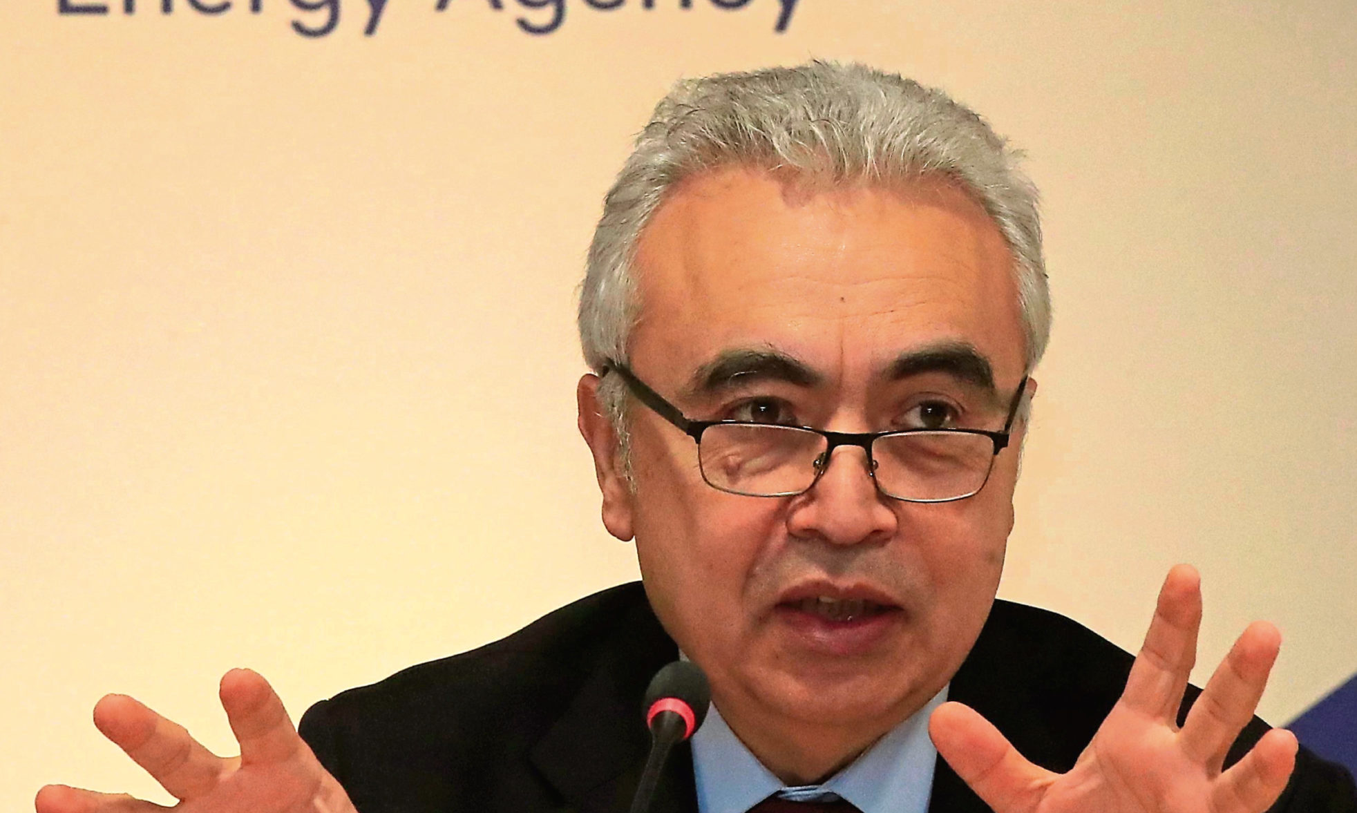 Executive Director of the International Energy Agency Fatih Birol. Photo by Michel Euler/AP/Shutterstock