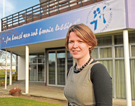 SAYFC chief executive Penny Montgomerie