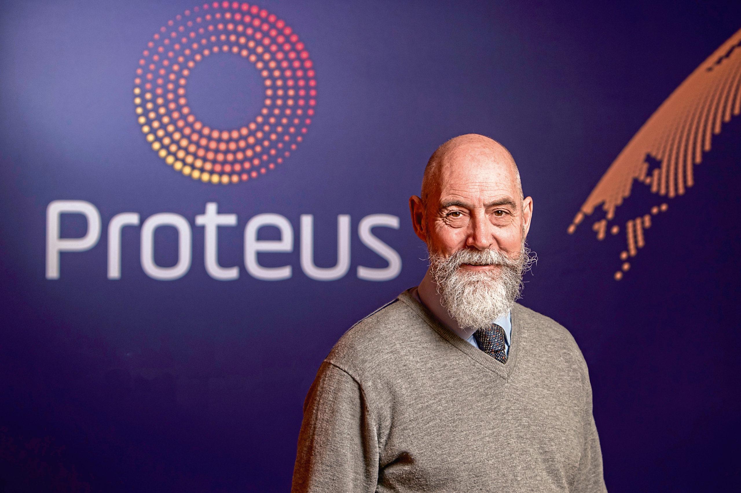James McCallum, chairman of technology start-up Xergy.