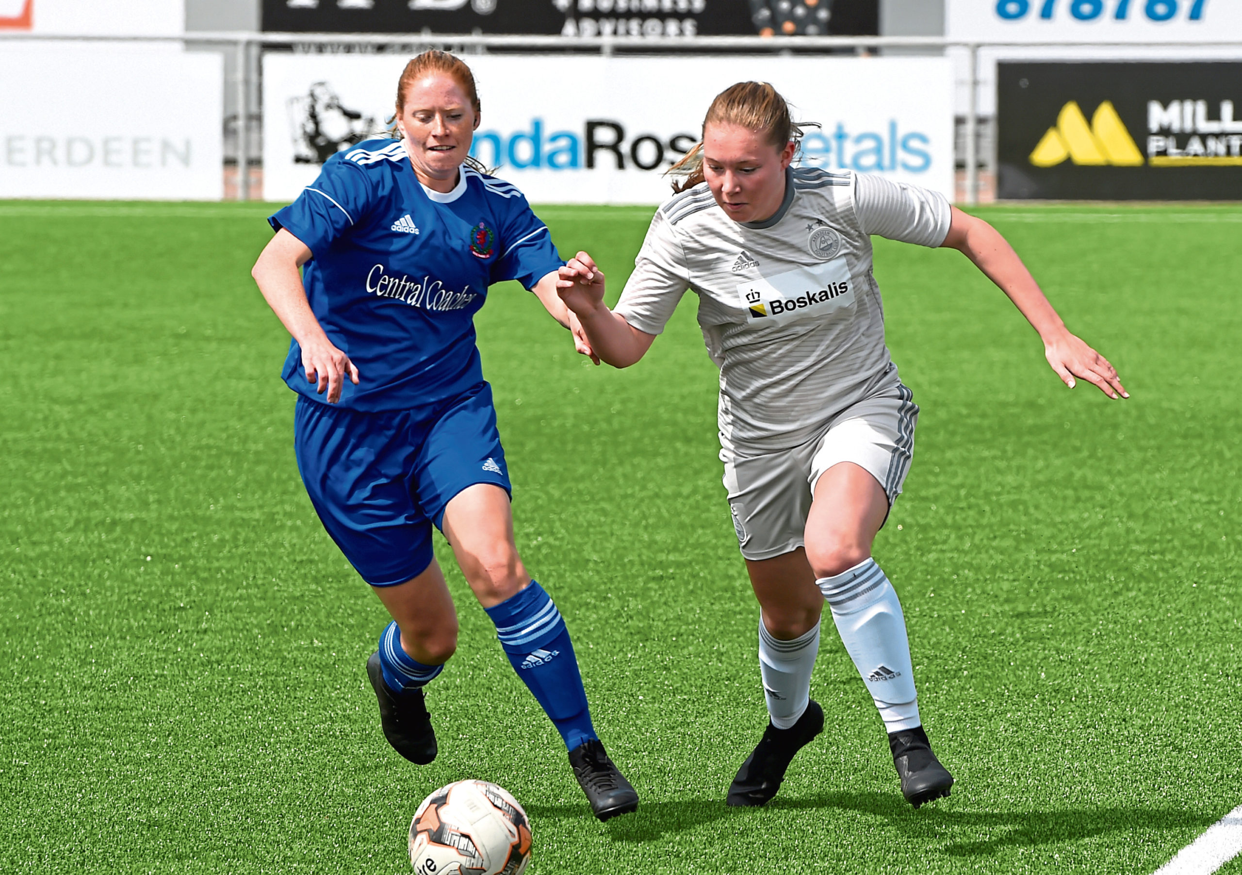 Aberdeen Women are in limbo with the rest of the part-time game. Picture by Kenny Elrick