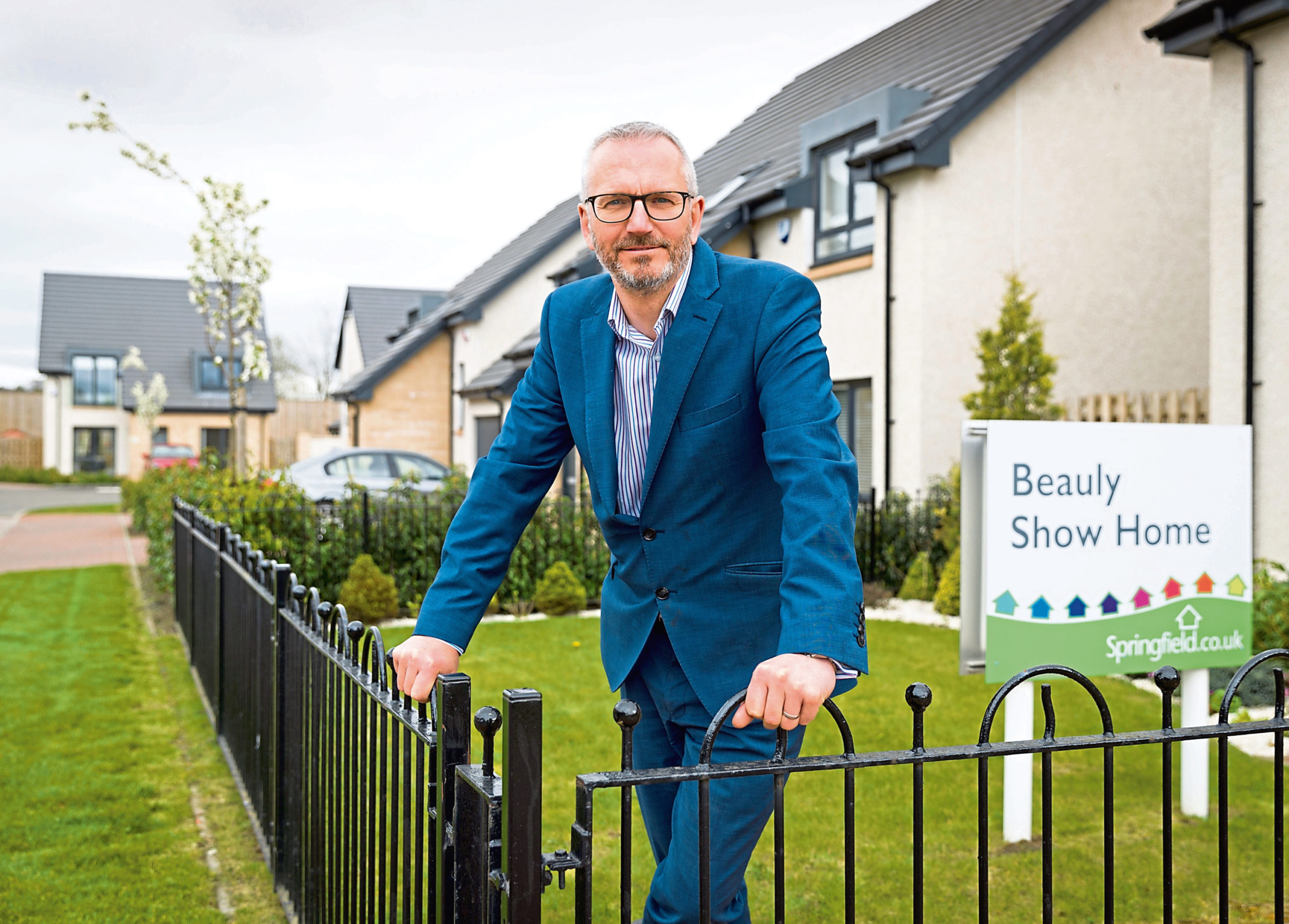 Springfield Homes Managing Director Innes Smith
