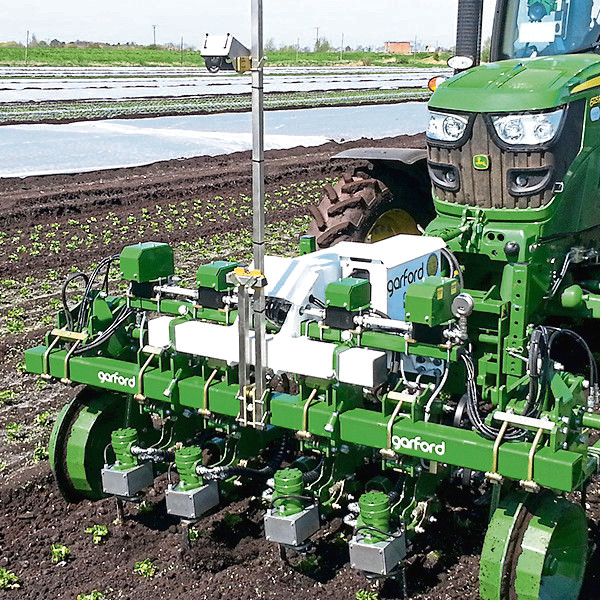 Garford Farm Machinery's in-row weeder.