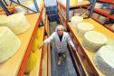Callum Clark at Connage Highland Dairy in Ardersier.