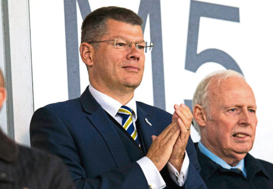 The SPFL's Neil Doncaster