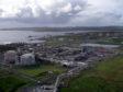 The Sullom Voe Terminal in Shetland.