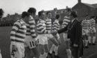 Fraserburgh v Celtic on April 28, 1970.