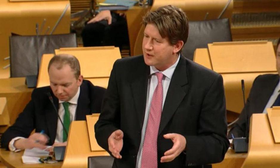 Alexander Burnett, MSP for Aberdeenshire West.