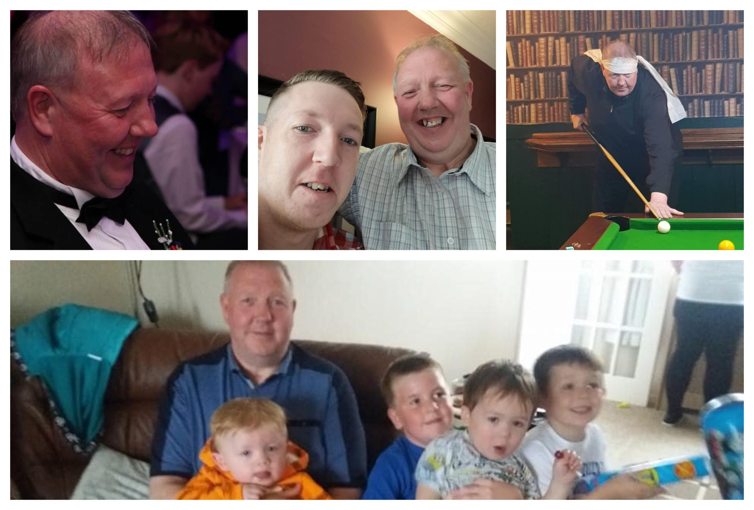 George White died after being diagnosed with Covid-19.