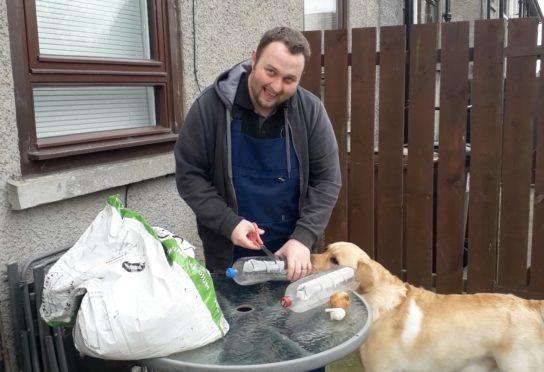 Aberdeen City Council, environmental chargehand, Danny Shand.