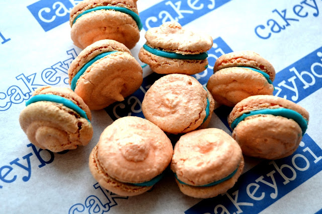Cakeyboi's Irn-Bru flavoured macarons are bound to go down a treat