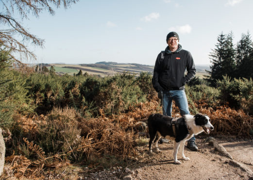 Chris Robinson is preparing to tackle the 10 peaks challenge.