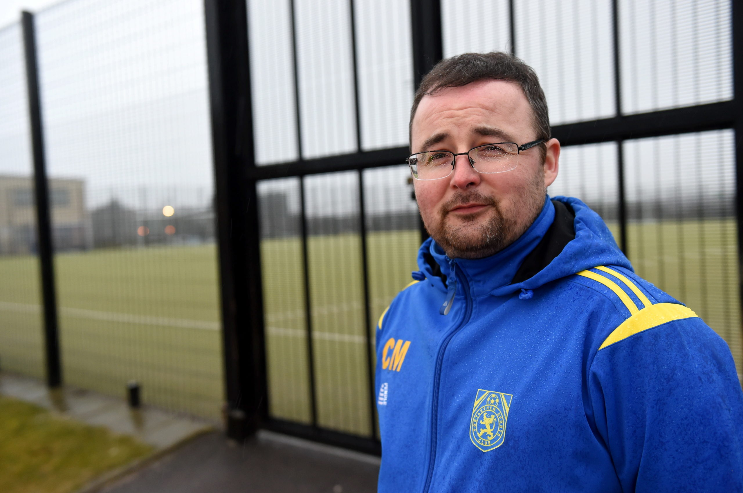 Craig McMorrin, chairman of Portlethen Sports Club.