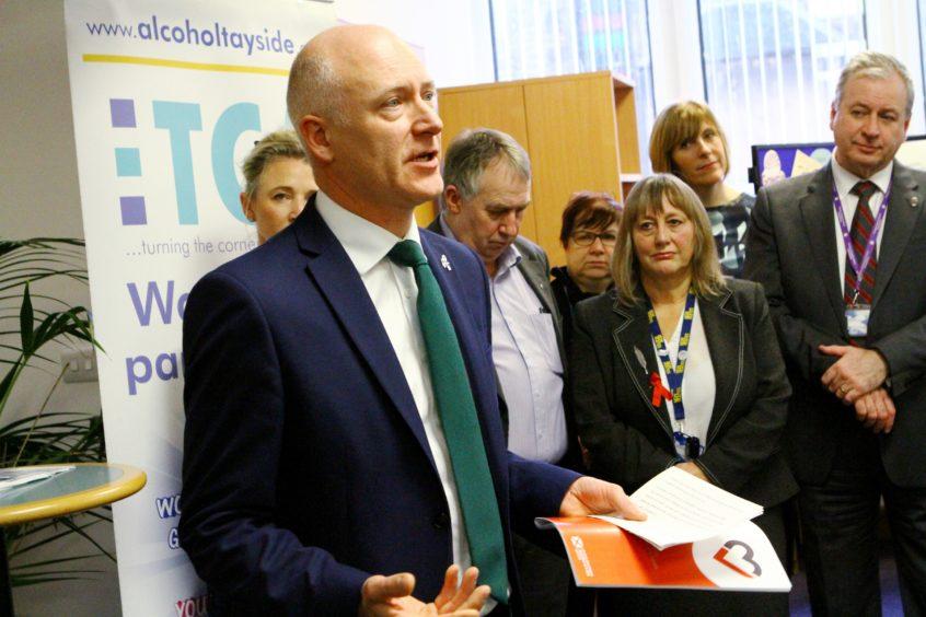 Public health minister Joe FitzPatrick