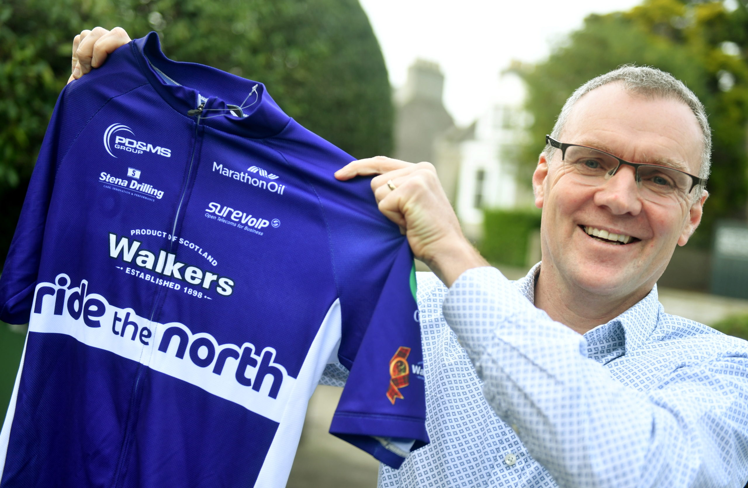 Neil Innes has been organising the cycling event Ride the North since its inception in 2011.
