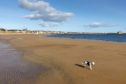 The beach at Elie and Earlsferry in the East Neuk of Fife.