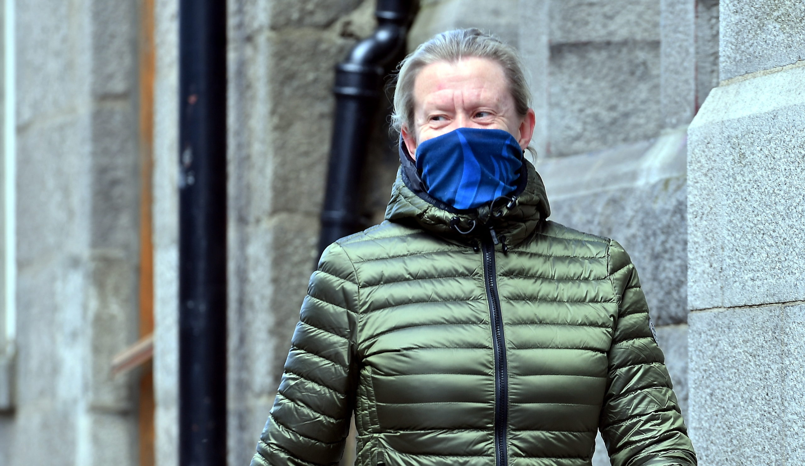 """The Scottish Government is recommending wearing a face covering in """"limited circumstances""""."""