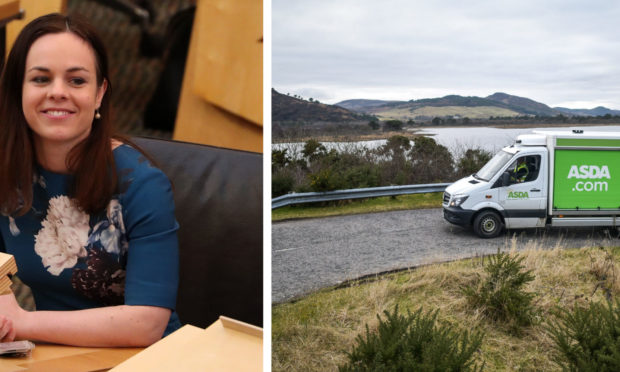 Kate Forbes MSP has called upon supermarkets to prioritise deliveries to rural communities