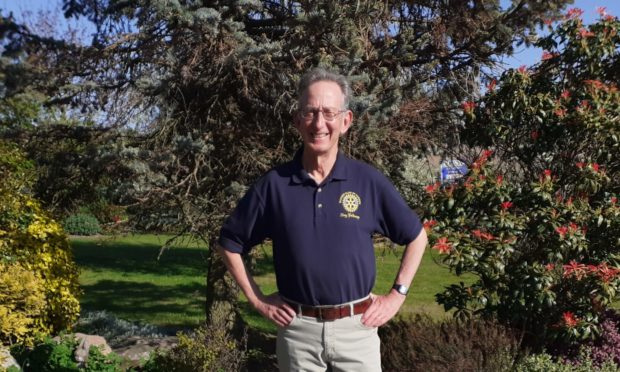 President Tony Galloway says that Forres Rotary are doing everything they can to help during these uncertain times.