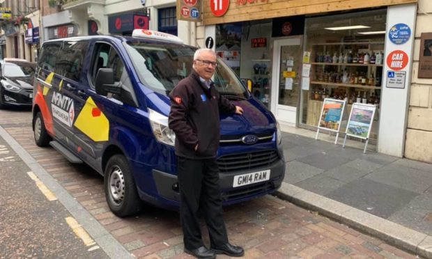 Inverness taxi driver Graham Macleod