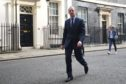 Dominic Raab outside Number 10