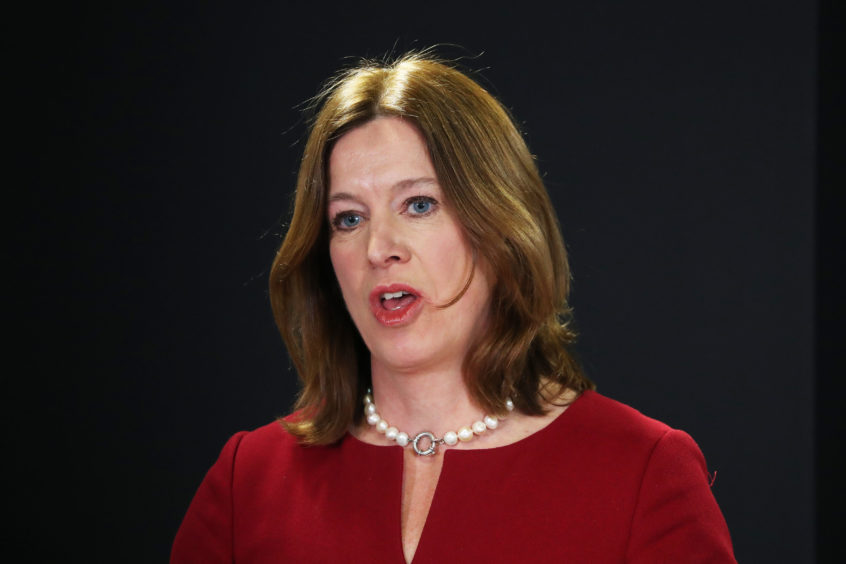 Dr Catherine Calderwood.