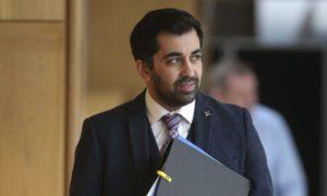 Justice Secretary Humza Yousaf announced jury-trial U-turn