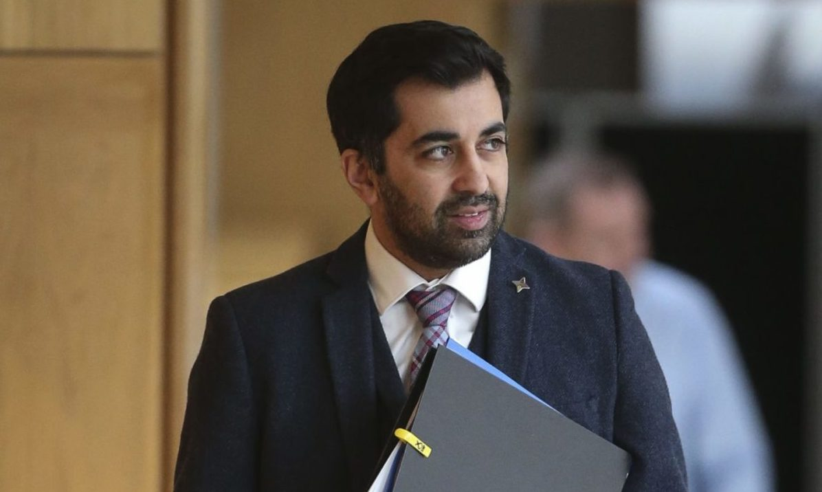 Justice Secretary Humza Yousaf announced jury-trial U-turn