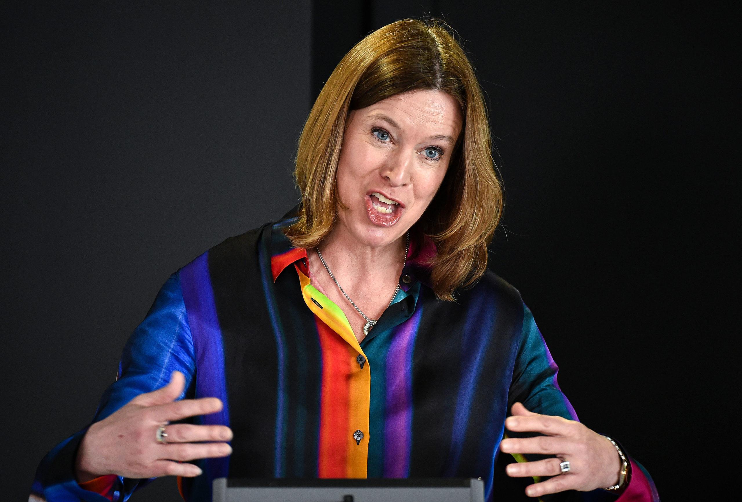 Scotland's former C chief M medical O officer Dr Catherine Calderwood.