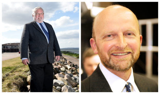 Councillors Tom Heggie and Matthew Reiss have praised a resurgence in community spirit