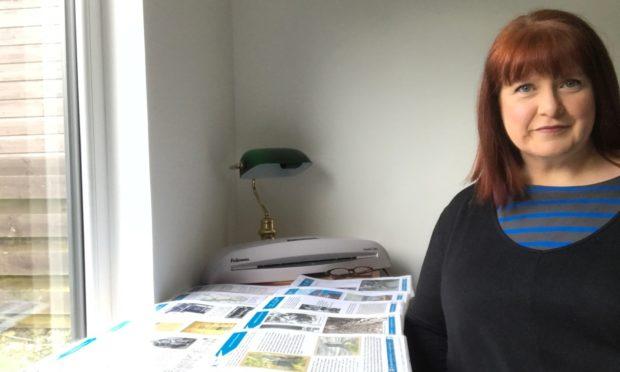 Highland Archive Centre's senior archivist Fiona MacLeod
