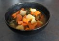 Barry's chunky lentil and vegetable soup.