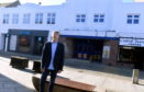 Alan Gardiner from A&J Investments outside the old night club on Marischal Street in Peterhead. Picture by Chris Sumner