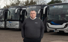 Kevin Mayne, operations director of Maynes Coaches.