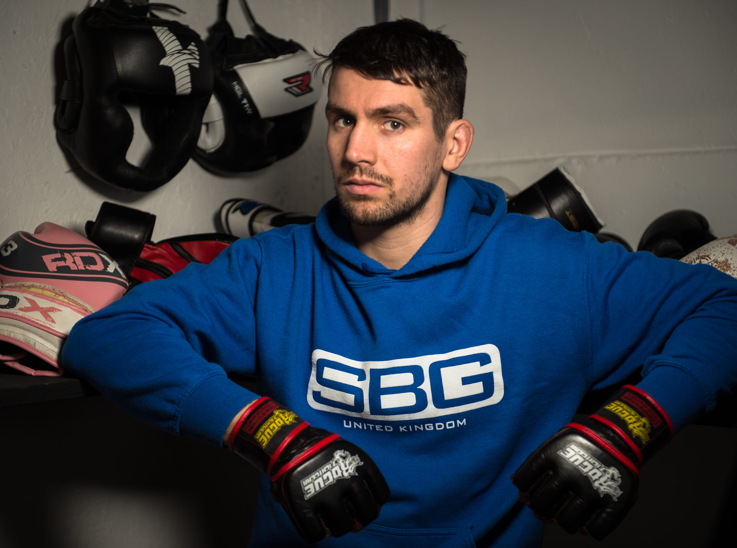 Elgin MMA fighter Aidan Stephen.