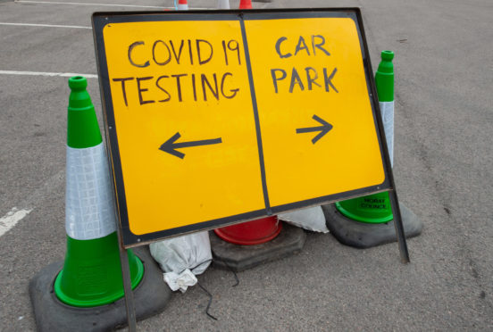 The test centre is being set up each Monday.