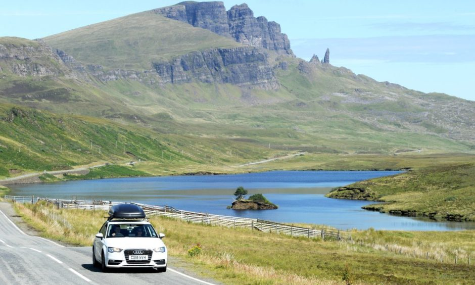 The public are being asked to keep away from the Highlands, no matter how tempting they might be.