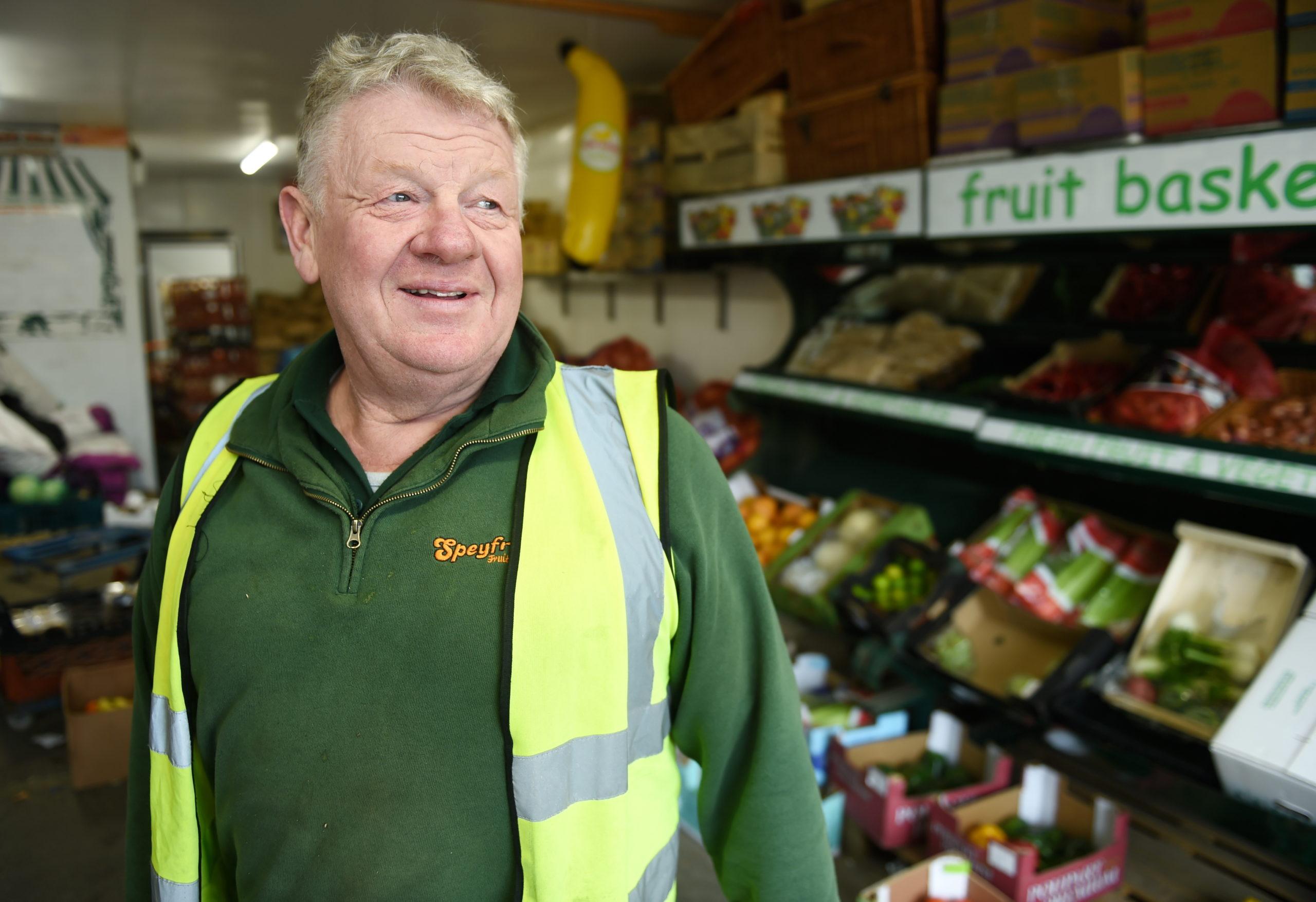 Speyfruit owner Ian Taylor.