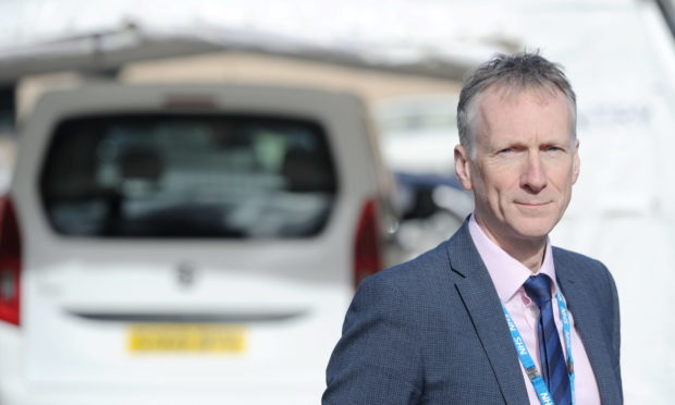 NHS Highland medical director Dr Boyd Peters. Picture by Sandy McCook