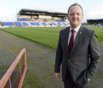 Scot Gardiner at the Caledonian Stadium.