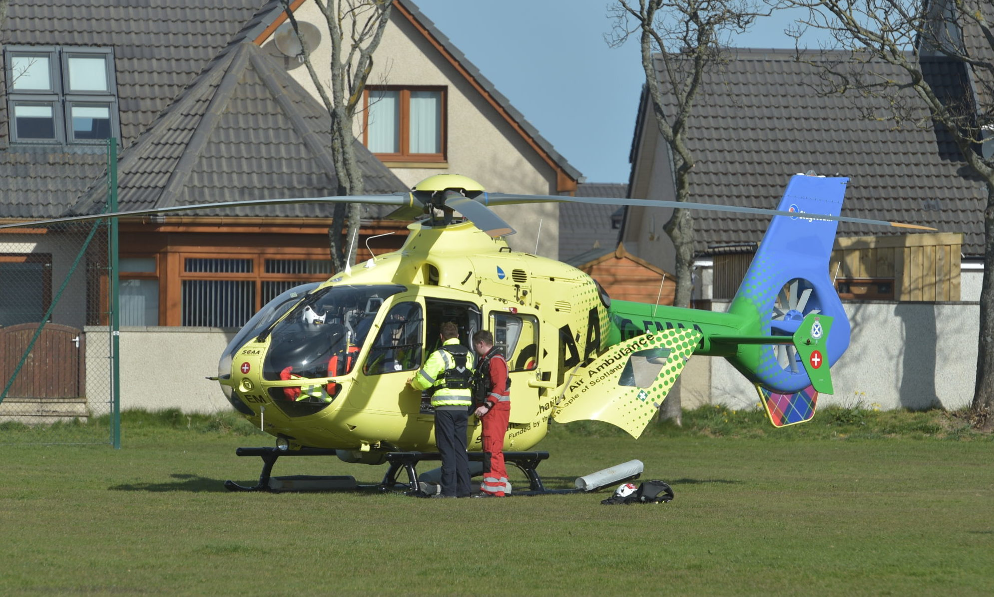 Helimed 79. Picture by Jason Hedges.