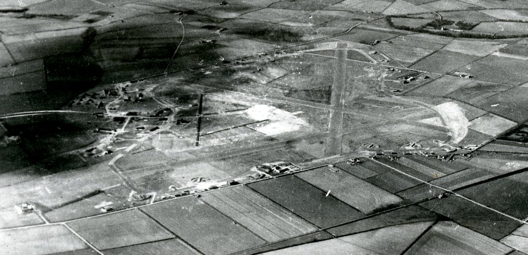 RAF Peterhead pictured from the sky while it was operational in 1943