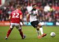Derby County's Graeme Shinnie. Photo: Tim Goode/PA Wire.