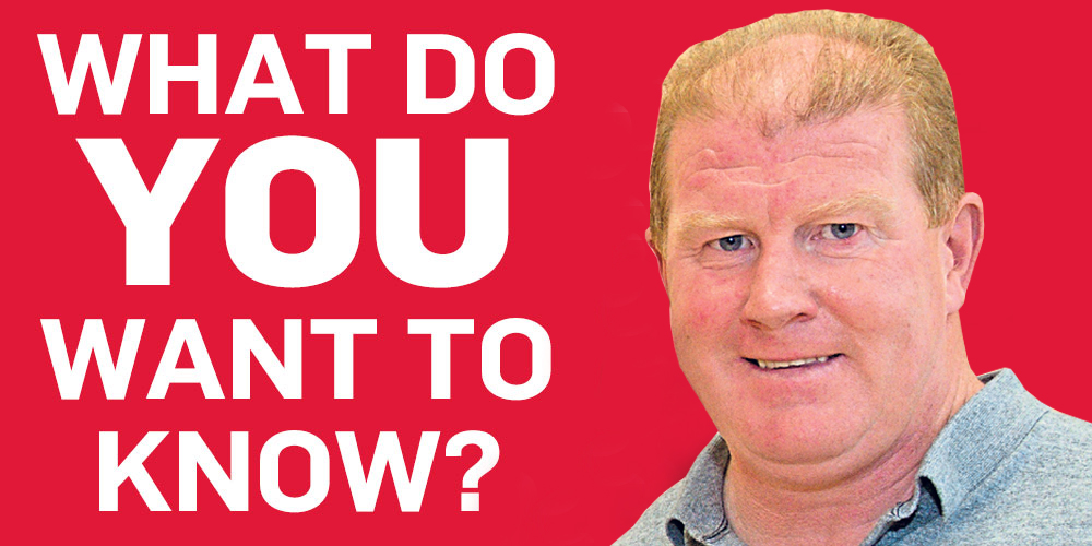 Duncan Shearer will answer your questions.