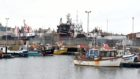 Peterhead, the largest whitefish port in Europe.
