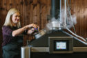 Keica McDougall, director and head distiller at Tayport Distillery