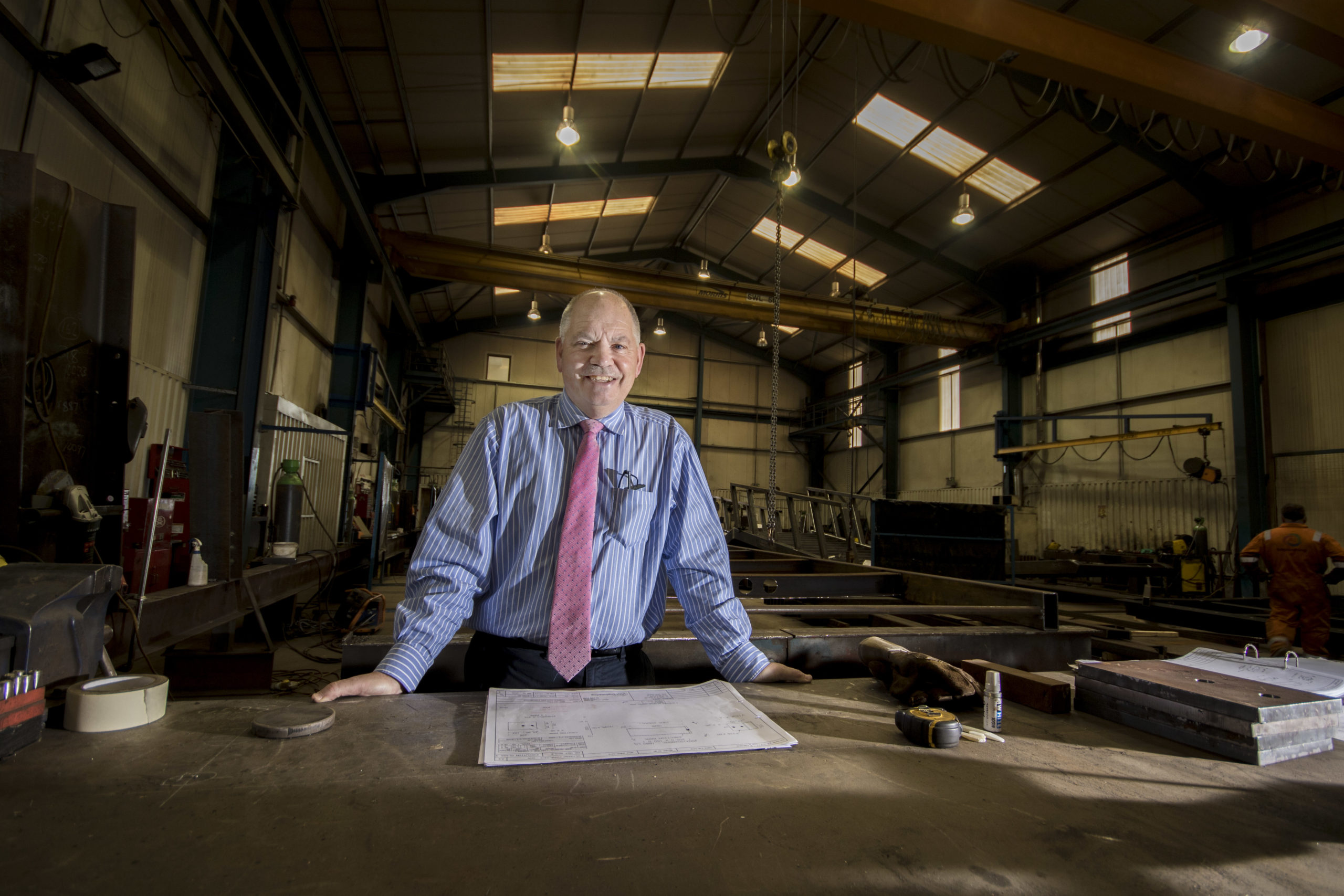 Managing direct of AJ Engineering and Construction Services, Alan James has been shortlisted for an award.