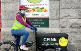 Cfine will receive £10,000 of National Lottery funding.