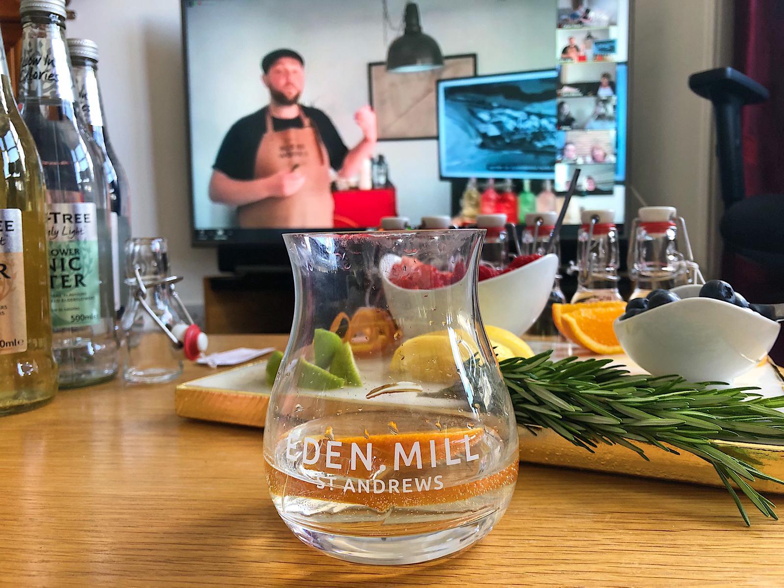 Eden Mill virtual tasting